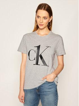 Calvin Klein Underwear Calvin Klein Underwear Marškinėliai Crew Neck 000QS6436E Pilka Regular Fit