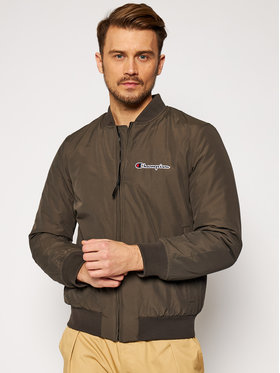 Champion Champion Bomber bunda Trade Rochester 214892 Zelená Regular Fit
