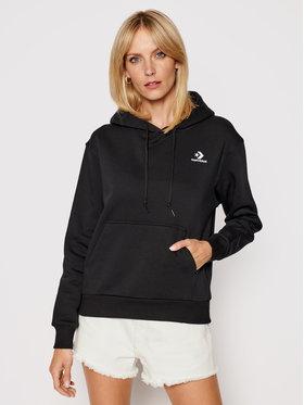 Converse Converse Sweatshirt Embr S.Chev 10020872-A01 Noir Regular Fit