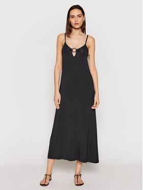 Emporio Armani Emporio Armani Лятна рокля 262483 1P315 00020 Черен Regular Fit
