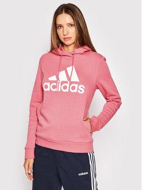 adidas adidas Bluza Loungewear Essentials Logo H07889 Różowy Regular Fit