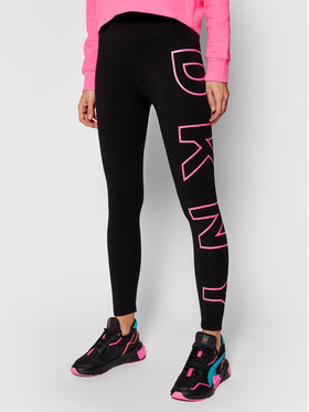 DKNY Sport DKNY Sport Leggings DKNY-DP0P1960 Fekete Slim Fit