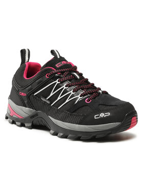 CMP CMP Трекінгові черевики Rigel Low Wmn Trekking Shoes Wp 3Q54456 Чорний