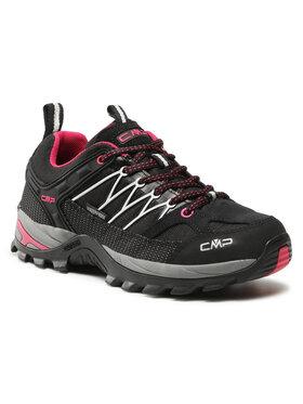 CMP CMP Trekkingi Rigel Low Wmn Trekking Shoes Wp 3Q54456 Czarny