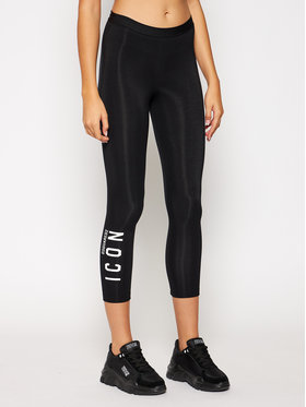 Dsquared2 Underwear Dsquared2 Underwear Κολάν D8N333120 Μαύρο Slim Fit