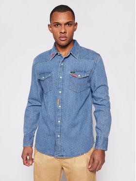 Wrangler Wrangler Camicia 27Mw W5MSLW87A Blu Regular Fit