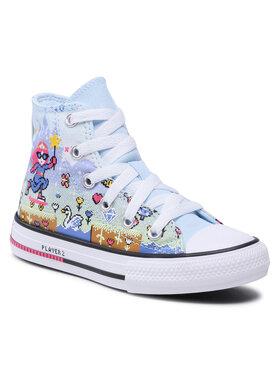 Converse Converse Sneakers aus Stoff Ctas Hi 670170C Blau