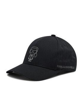 KARL LAGERFELD KARL LAGERFELD Baseball sapka 805620 511123 Fekete