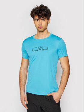 CMP CMP Funkčné tričko 39T7117P Modrá Regular Fit