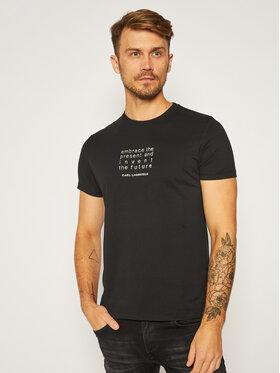 KARL LAGERFELD KARL LAGERFELD T-Shirt Crewneck 755034 502226 Czarny Regular Fit