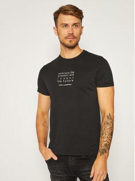 KARL LAGERFELD KARL LAGERFELD T-shirt Crewneck 755034 502226 Noir Regular Fit