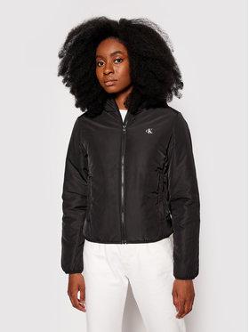 Calvin Klein Jeans Calvin Klein Jeans Pehelykabát J20J217126 Fekete Regular Fit