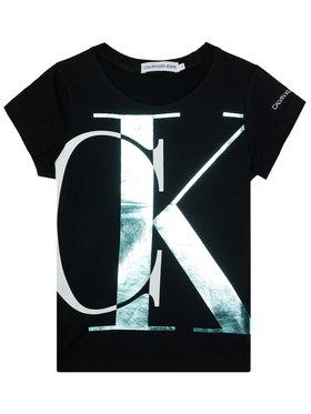 Calvin Klein Jeans Calvin Klein Jeans T-shirt Exploded Monogram IG0IG00662 Nero Slim Fit