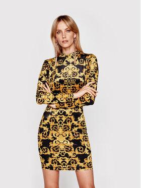 Versace Jeans Couture Versace Jeans Couture Коктейлна рокля D2HWA424 Цветен Slim Fit