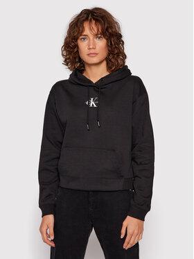 Calvin Klein Jeans Calvin Klein Jeans Bluza J20J216232 Czarny Cropped Fit