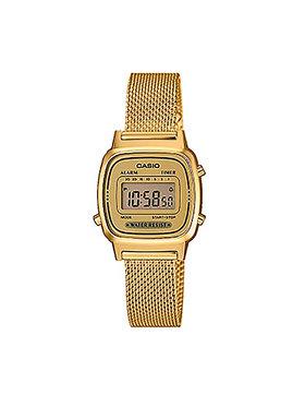 Casio Casio Uhr Vintage LA670WEMY-9EF Goldfarben