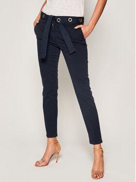 Trussardi Trussardi Chino kalhoty Lux Gabardine 56P00001 Tmavomodrá Regular Fit