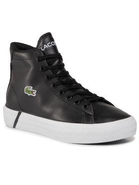 Lacoste Lacoste Sneakersy Gripshot Mid 0120 2 Cuj 7-40CUJ0010312 Černá