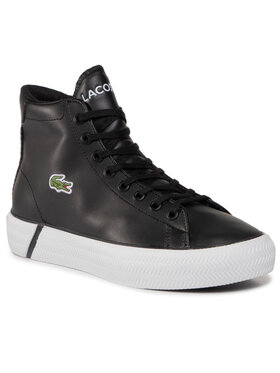 Lacoste Lacoste Sneakersy Gripshot Mid 0120 2 Cuj 7-40CUJ0010312 Čierna