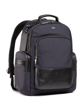 Boss Boss Ruksak First Class_Backpack 50437558 Tmavomodrá
