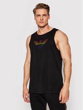 Emporio Armani Emporio Armani Tank top marškinėliai 211838 1P477 00020 Juoda Regular Fit