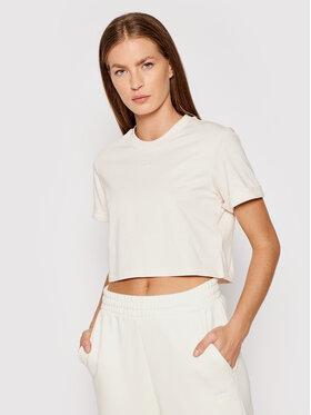 adidas adidas T-Shirt adicolor Essentials Cropped H37880 Béžová Standard Fit