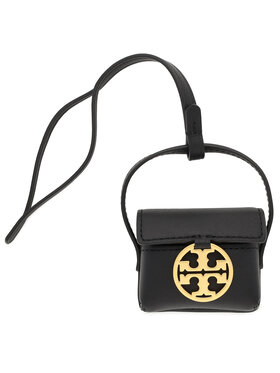 Tory Burch Tory Burch Custodia per auricolari Miller Airpods Case 74872 Nero