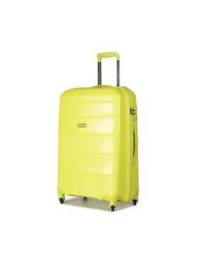 Puccini Puccini Kis kemény borítású bőrönd Bahamas PP016B 5 Zöld