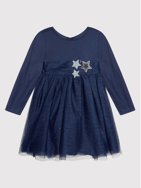 Billieblush Billieblush Елегантна рокля U12690 Тъмносин Regular Fit