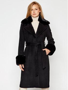 MICHAEL Michael Kors MICHAEL Michael Kors Gyapjú kabát 77B5012M11 Fekete Regular Fit