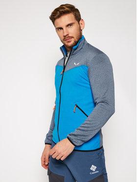 Salewa Salewa Fliso džemperis Puez Hybrid 27388 Mėlyna Athletic Fit