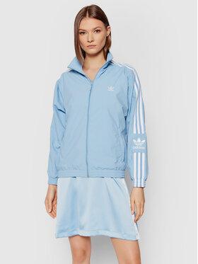 adidas adidas Prechodná bunda adicolor Classics Lock-Up Track H20541 Modrá Regular Fit