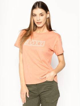 Roxy Roxy T-shirt Epic Afternoon ERJZT04808 Arancione Regular Fit