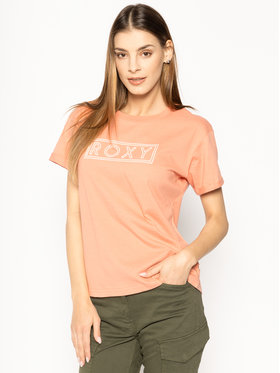 Roxy Roxy T-Shirt Epic Afternoon ERJZT04808 Pomarańczowy Regular Fit