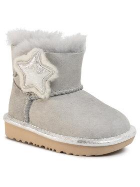 Ugg Ugg Schuhe T Mini Bailey Button II Star 1107969T Grau