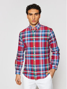 Polo Ralph Lauren Polo Ralph Lauren Košile Oxford 710837280002 Barevná Custom Fit