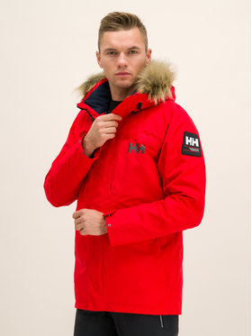 Helly Hansen Helly Hansen Parka Coastal 2 54408 Czerwony Regular Fit