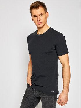 Nike Nike Set 2 tricouri Crew Neck 2Pk 0000KE1010 Negru Regular Fit