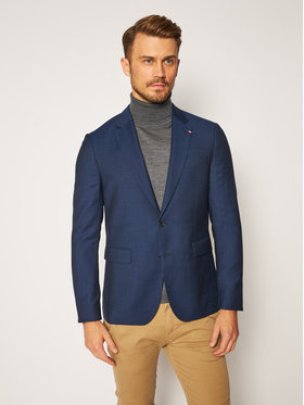 Tommy Hilfiger Tailored Tommy Hilfiger Tailored Σακάκι Macro Separate TT0TT07506 Σκούρο μπλε Slim Fit