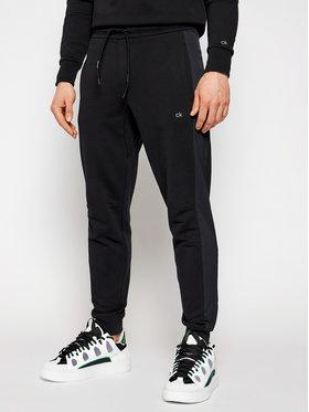 Calvin Klein Calvin Klein Teplákové nohavice Elevated K10K106467 Čierna Regular Fit