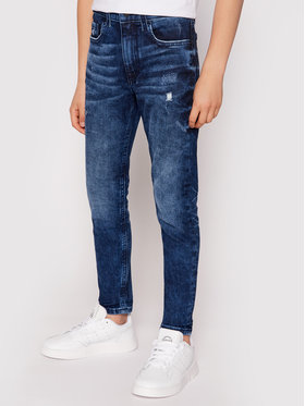 Calvin Klein Jeans Calvin Klein Jeans Jeansy IB0IB00736 Granatowy Tapered Fit