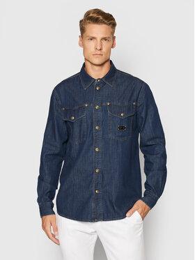 Versace Jeans Couture Versace Jeans Couture džínová košile 71GALC09 Tmavomodrá Regular Fit
