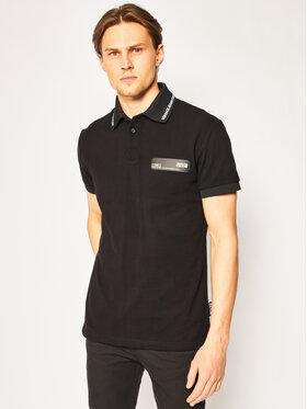 Versace Jeans Couture Versace Jeans Couture Тениска с яка и копчета B3GVB7P5 Черен Regular Fit