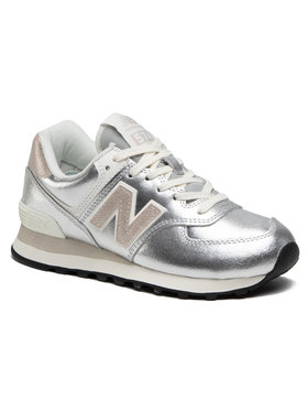 New Balance New Balance Sneakersy WL574PR2 Srebrny