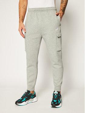 NIKE NIKE Teplákové kalhoty Sportswear Club Fleece CD3129 Šedá Standard Fit
