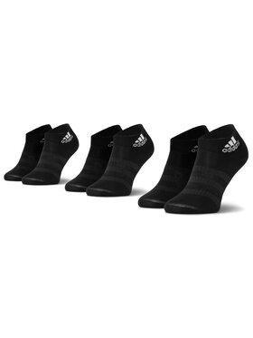 adidas adidas Σετ 3 ζευγάρια κοντές κάλτσες unisex Light Ank 3Pp DZ9436 Μαύρο