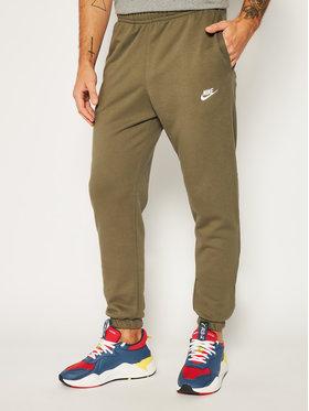 NIKE NIKE Pantaloni da tuta Nsw Club Fleece CW5608 Verde Standard Fit