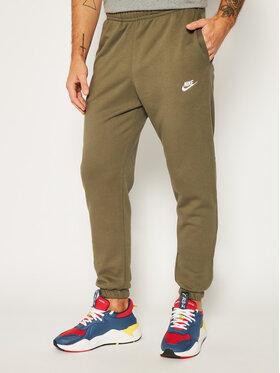 NIKE NIKE Teplákové kalhoty Nsw Club Fleece CW5608 Zelená Standard Fit