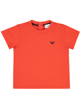 Emporio Armani Emporio Armani T-Shirt 8NHT05 4JFEZ 0391 Czerwony Regular Fit