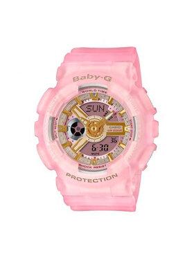 Baby-G Baby-G Zegarek Urban BA-110SC-4AER Różowy